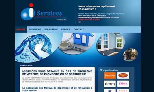 site-web-i-services Fair Agence web Nantes 44