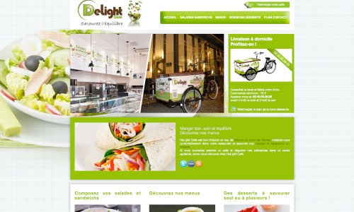 site-internet-delight-cafe Fair Agence web Nantes 44