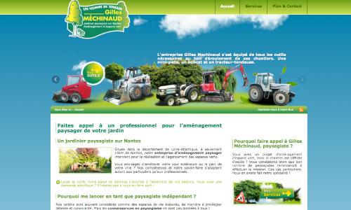 site-internet-gilles-mechinaud Fair Agence web Nantes 44