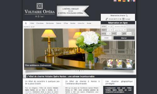 site-internet-hotel-voltaire-opera Fair Agence web Nantes 44
