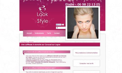 site-internet-look-et-style Fair Agence web Nantes 44