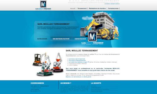 site-internet-moullec-terrassement Fair Agence web Nantes 44