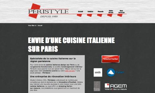 site-internet-peristyle Fair Agence web Nantes 44