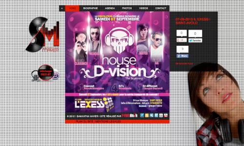 site-internet-samantha-mayer Fair Agence web Nantes 44