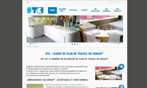 site-internet-stc-paris Fair Agence web Nantes 44
