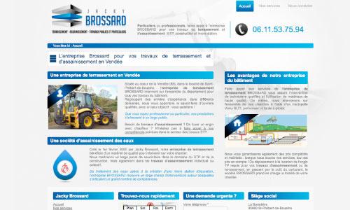 site-web-brossard-terrassement Fair Agence web Nantes 44