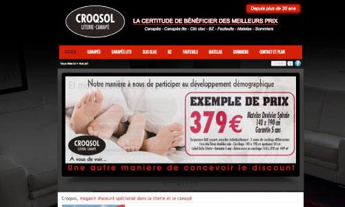 site-web-croqsol Fair Agence web Nantes 44
