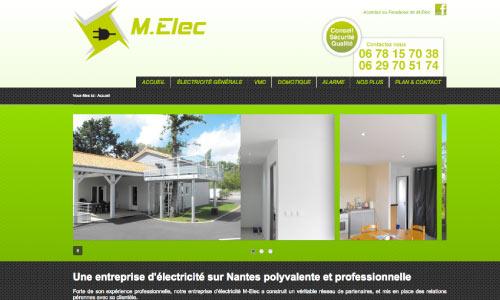 site-web-m-elec Fair Agence web Nantes 44