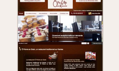 site-web-o-poivre-en-grain Fair Agence web Nantes 44