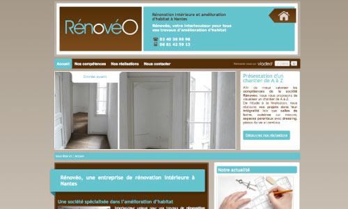site-web-renoveo Fair Agence web Nantes 44