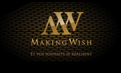 Carte De Visite Making Wish