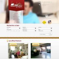 Site web de l'Immobilière du Palais