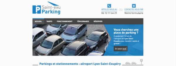 Saint-exu-parking-lyon-resalisation-site-web-agence-web-fair-nantes-44