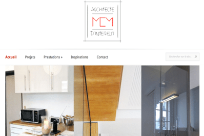 r alisation site web mcm archictecte nantes agence fair. Black Bedroom Furniture Sets. Home Design Ideas