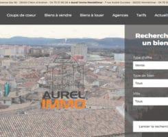 creation-conception-site-internet-agence-immobilier-aurel-immo-agence-web-fair-nantes