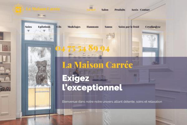 création site Internet Nantes Insitut de beauté