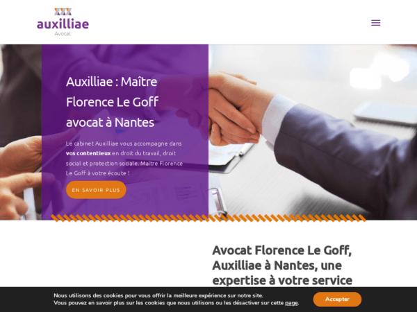auxilliae-avocat-nantes-maitre-florence-le-goff-creation-site-web-nantes-44-agence-fair